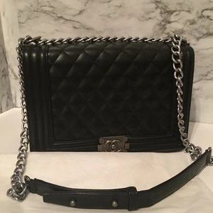Black Bag with chain strap